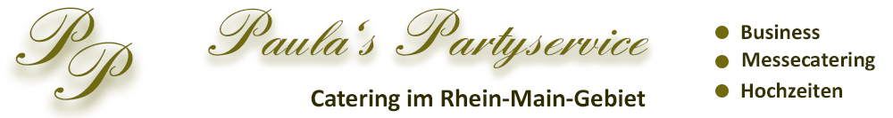 Paulas Partyservice, Trade Fair Catering Germany